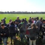 Visita al campo di grano