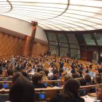Riunione finale al Parlamento Montecitorio