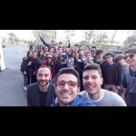 Democracy 2017 Lecce e Brindisi con i rispettivi tutor Marco Stasi, Giuseppe Frigione e Domenico Nuzzolese
