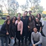 Democracy 2017 Roma gruppo di Lecce accompagnato dai tutor Marco Stasi e Giuseppe Frigione
