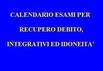 Prove scritte Martedì 3 settembre          ore 8.30 Italiano / Greco / Tedesco / Inglese Mercoledì 4 settembre     […]