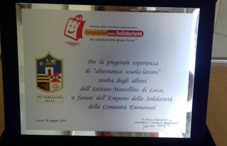"""Lunedì 29 maggio, si è tenuta la conferenza stampa dalla Comunità Emmanuel, per la presentazione del Bilancio Sociale 2016 del progetto """"Emporio della Solidarietà"""". In questo contesto gli studenti del […]"""