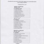 Calendario prova orale