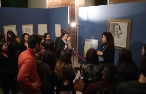 Lascuolaoltre le mura dellascuola! Gli studenti del quinto anno della Scuola Secondaria di Secondo Grado sulle orme di Picasso a Ostuni, Martina Franca e Mesagne.