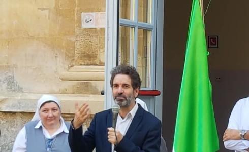 Il Sindaco di Lecce Carlo Salvemini ha visitato il nostro Istituto ed ha incontrato gli studenti di tutti gli ordini scolastici.