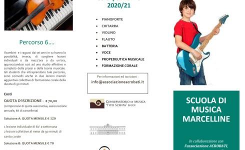 Sono aperte le iscrizioni alla SCUOLA DI MUSICA. Dai 3 anni ai 18 è possibile seguire i corsi con le modalità e i tempi indicati in locandina. La proposta è […]